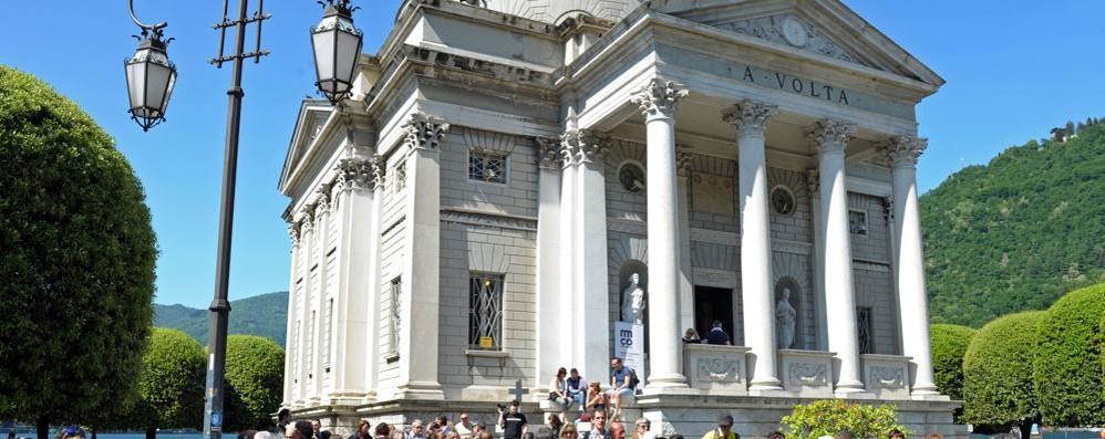 Non solo il Tempio Voltiano  «Creiamo il percorso dell'architettura»