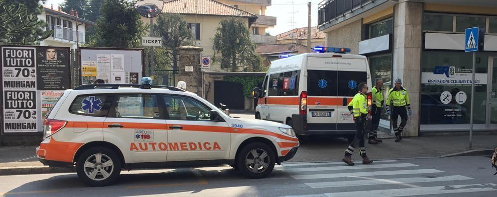 Erba, investito in centro  Ragazzo all'ospedale