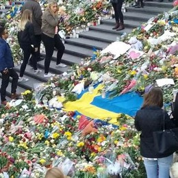Cantù: «Noi, qui a Stoccolma  A100 metri dalla strage»