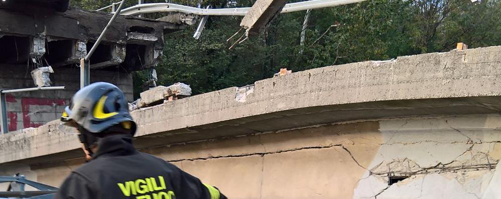 Annone: ponte crollato  Ora il progetto si può fare