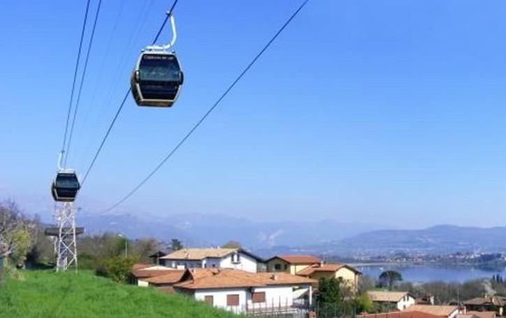 Erba, idea per il turismo  La teleferica diventa cabinovia