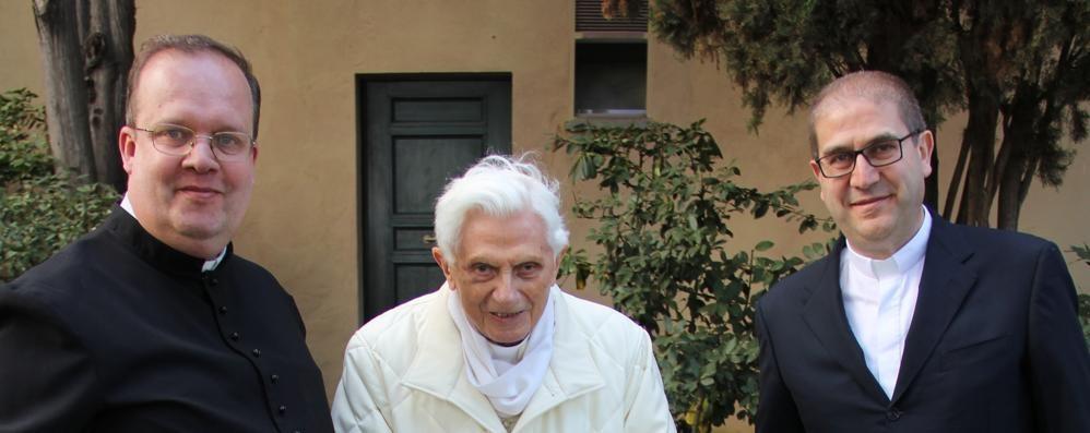 A Roma con Ratzinger  «Incontro straordinario»