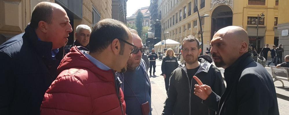 L'insulto proprio non va giù a Napoli  De Magistris querela davvero Bizzozero