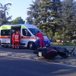 Mariano, giovane in scooter ferito gravemente in un incidente