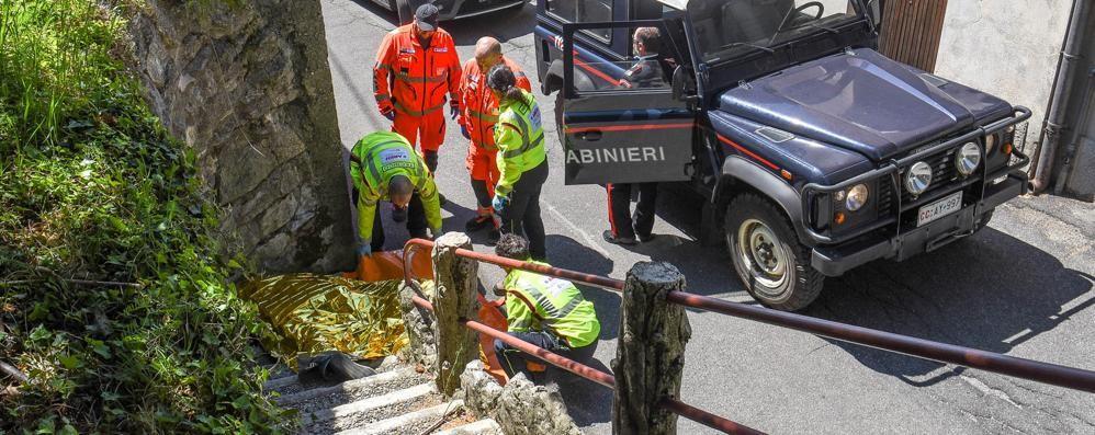 Brunate: turista muore  cadendo da una scala