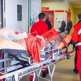 Motociclisti feriti in via Cecilio Code e caos a Camerlata