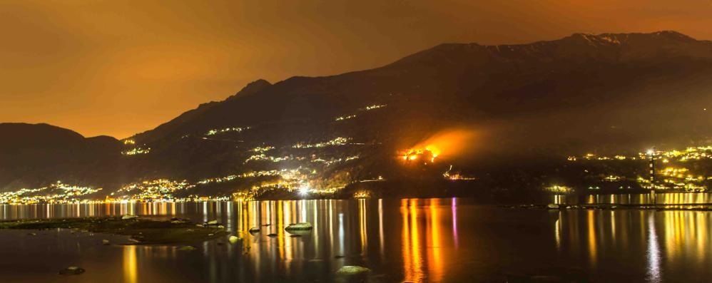 Due arresti in Alto Lago:   «Sono piromani»