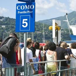 Beffa turisti, non solo treni    Disagi anche per i battelli