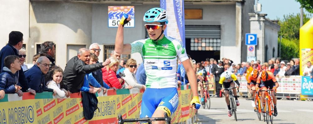 Bagioli campione juniores  A Varese vince il titolo comasco