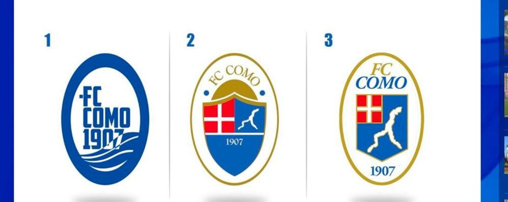 Il Como ha il nuovo logo  Trionfa la linea classica