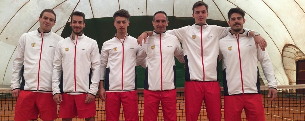 Il Tennis Como vola con i nuovi Borroni torna l'eroe di Mariano