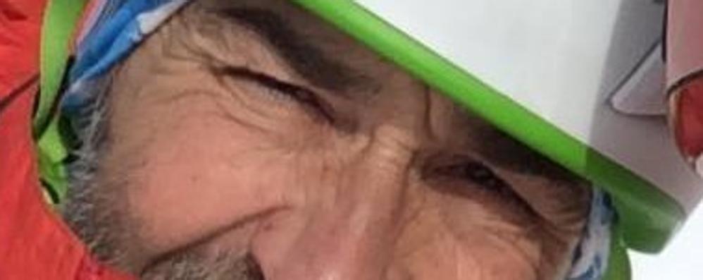 Uggiate: addio all'alpinista  «Testardo ed energico  Papà ti vogliamo bene»
