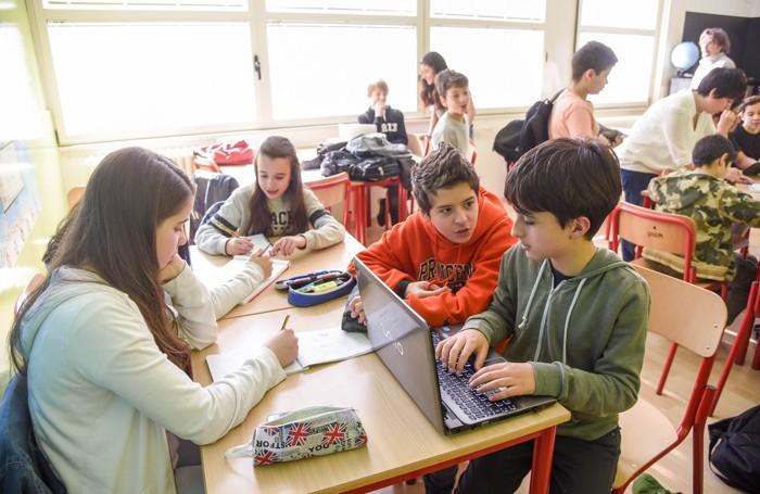 Como scuola media Parini, studenti, studio