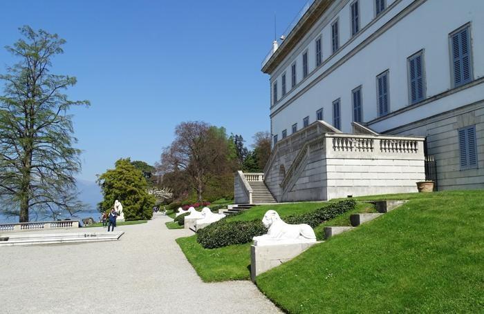 Bellagio, Camelie a Villa Melzi