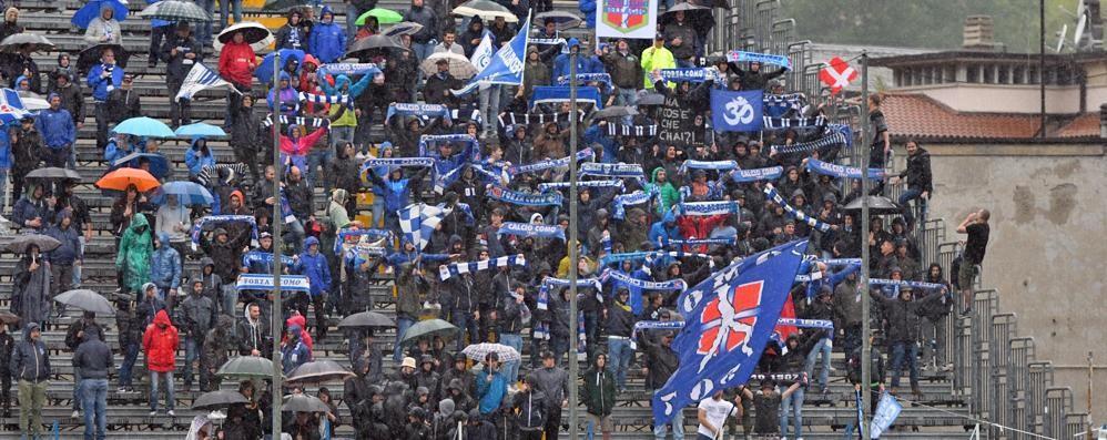 Como, trasferta playoff  Quattro pullman a Piacenza