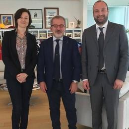 Gerasimenko va da Maroni «Progressi per il palasport»