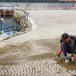 Lungolago di Como  I nuovi spazi a Sant'Agostino