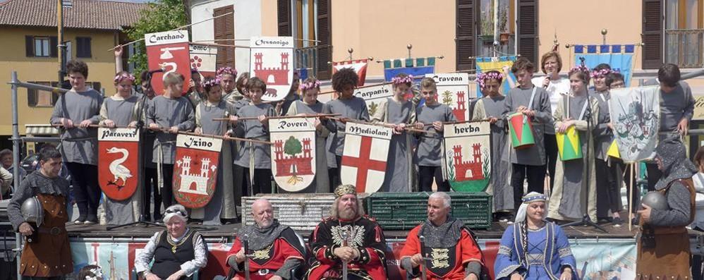Battaglia di Carcano  Medioevo in piazza