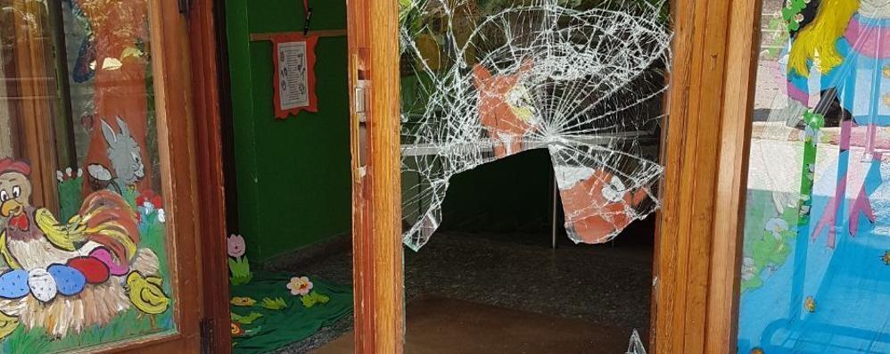 Prestino, vandali all'asilo  Spaccano tutto per pochi euro