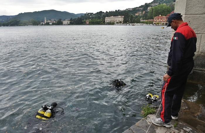 Cernobbio trovato resti umani nel lago al pizzo, sub dei carabinieri