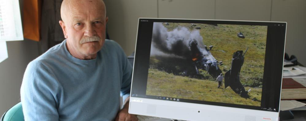 Novedrate, l'eroe dell'elicottero  «Non pensavo ai rischi ma a salvarli»