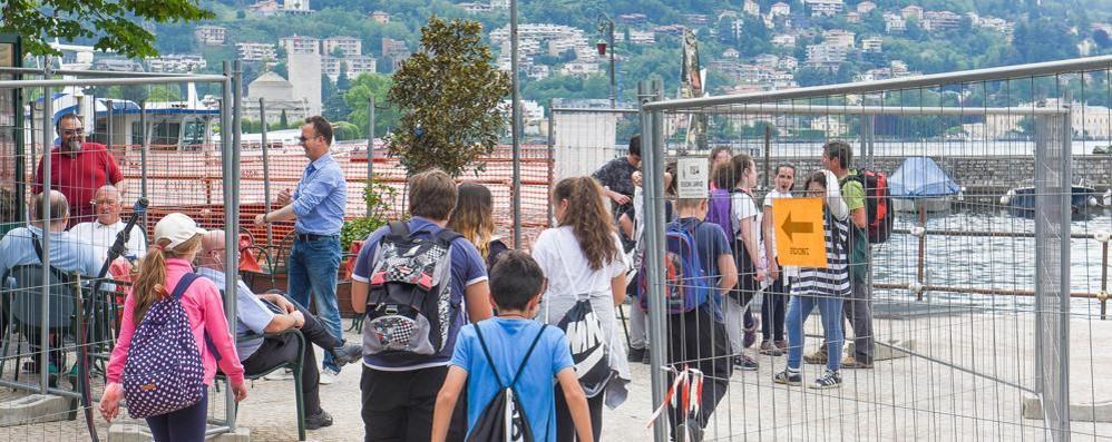 Paratie, lavori quasi finiti a S.Agostino  Tra otto giorni apre metà passeggiata