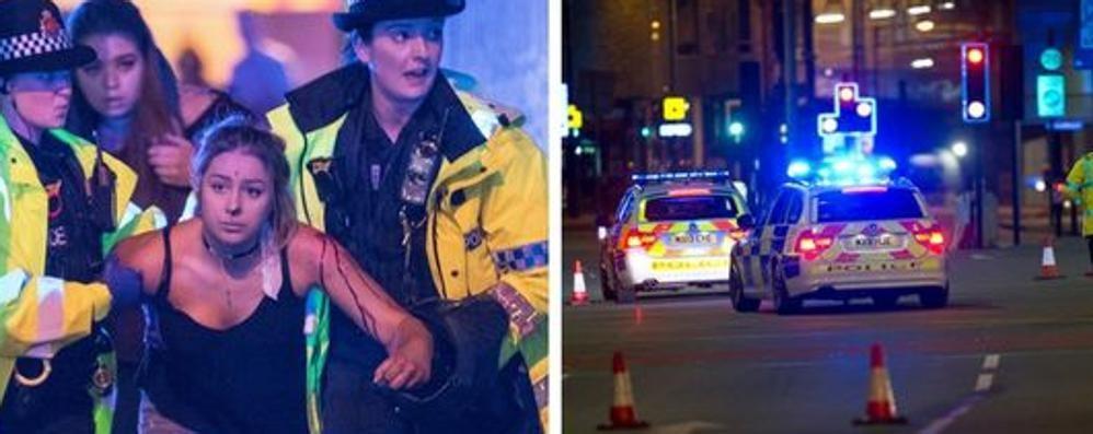 MANCHESTER: E' TERRORISMO  LA STRAGE AL CONCERTO, 22 MORTI