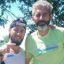 Colombo è un po' Forrest Gump Due maratone in meno di 12 ore