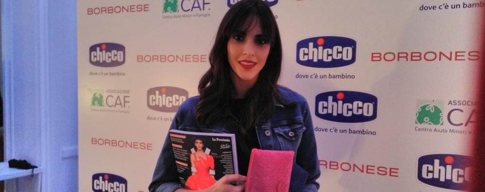 Rocio: «Con Chicco  dalla parte dei bambini»