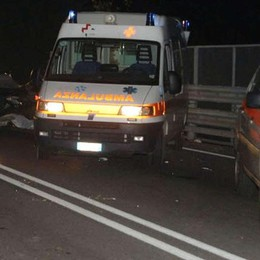 Lucino: scontro auto-moto  Feriti una ragazza e un uomo