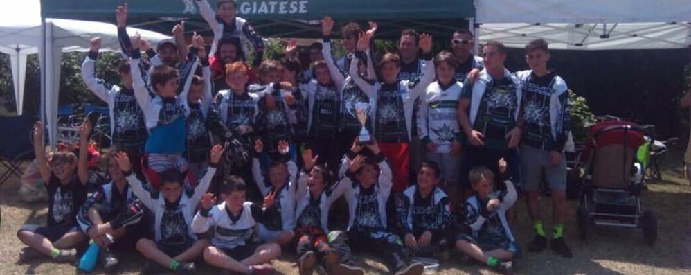 Bmx Ciclistica Olgiatese  Team campione lombardo