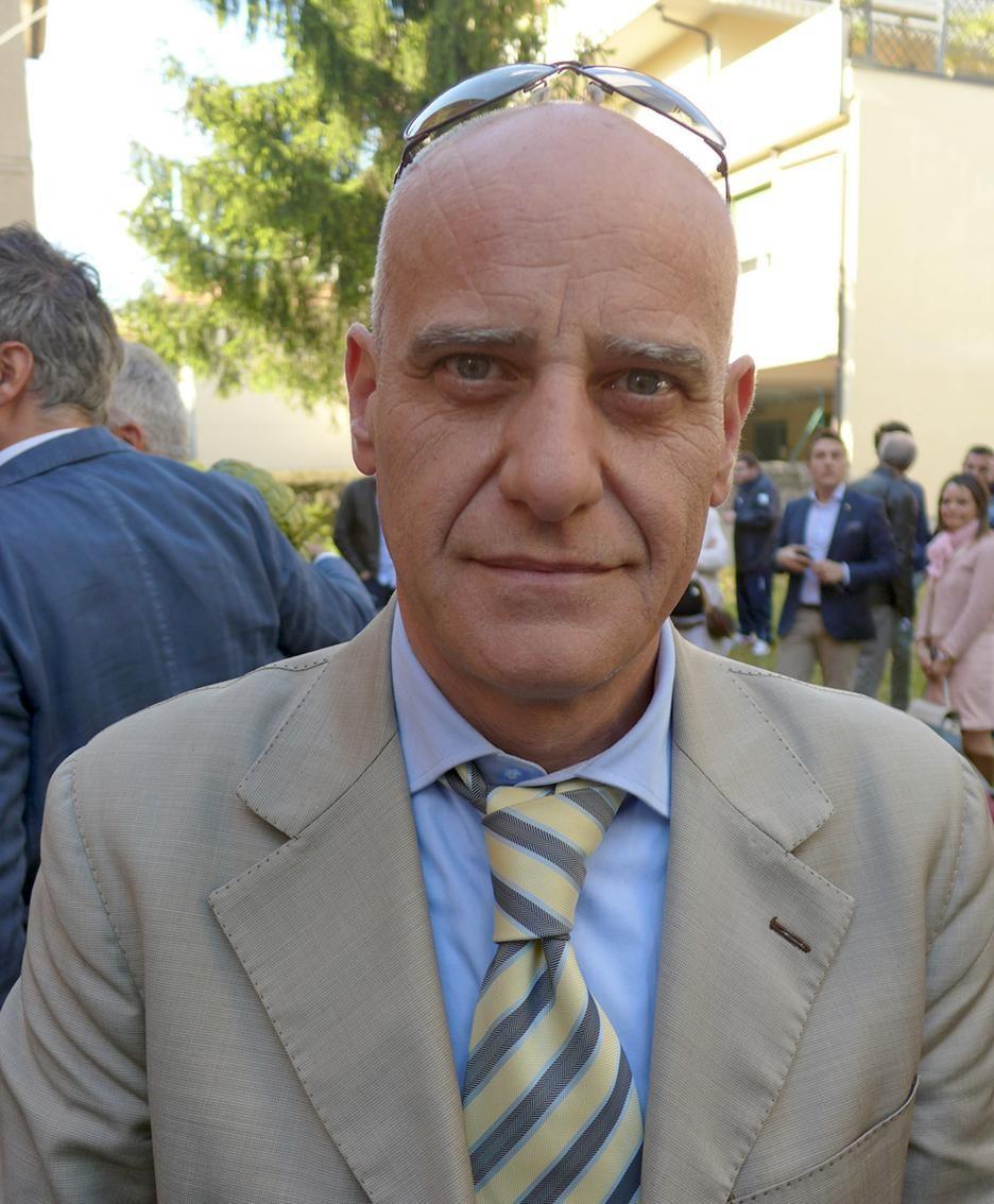Il sindaco di Barni Mauro Caprani
