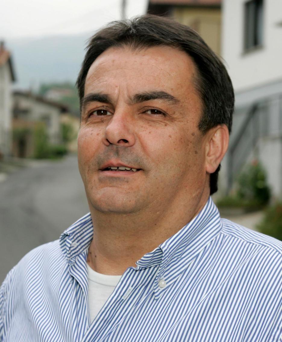 Moreno Bonardi, sindaco di San Bartolomeo Val Cavargna