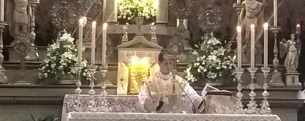 Don Francesco ritorna a Olgiate  Anticipo di festa in Valtellina