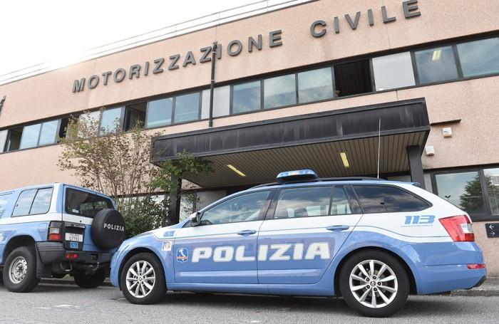 Como polizia in motorizzazione