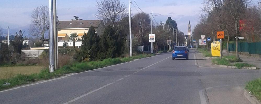 «In via Per Cabiate si corre troppo»  Autovelox dopo l'ennesimo scontro