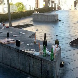 Movida violenta a Cantù Vietati bicchieri e bottiglie