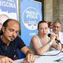 Meloni a Como per Landriscina  «Con lui la città può ripartire»
