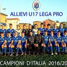 Il Como Campione d'Italia Under17  Battuto in finale il Padova 3-0