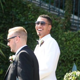 Le super nozze (blindate)  di Chris Smalling sul lago