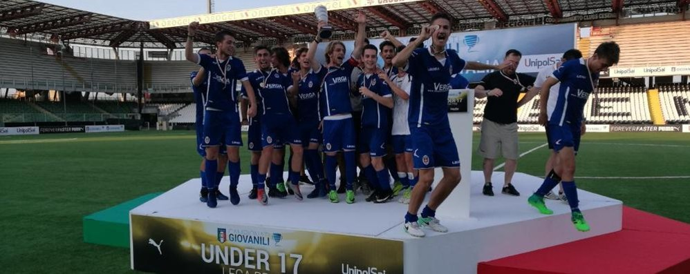 Supercoppa  Under 17  Vince l'Inter, ma Como fa festa