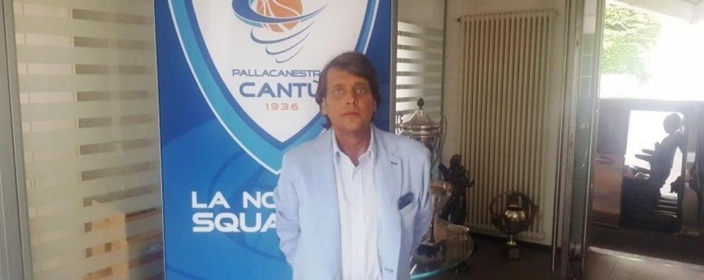 Cantù ha un nuovo ds Ecco Pier Francesco Betti