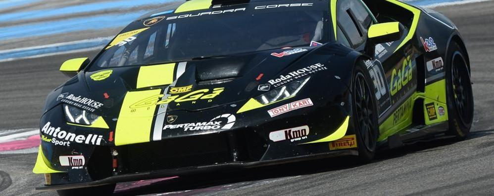 Lamborghini Super Trofeo Europa  Davide Roda vince gara 2 al Paul Ricard