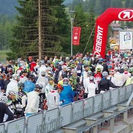 Alla Maratona delle Dolomiti   un centinaio di lariani