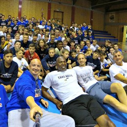 Bailey&Bosa, coppia dei campioni E il Cantù Basket Camp decolla