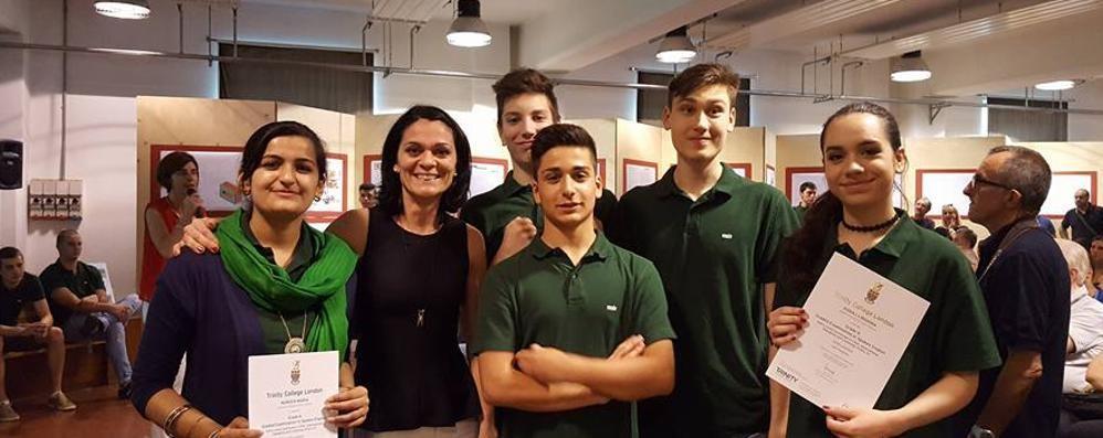 I ragazzi Enaip sei mesi in Inghiterra  Studio e stage per imparare un lavoro