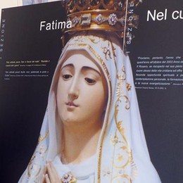 Fatima: da ieri la mostra  Oggi la Madonna a Cantù
