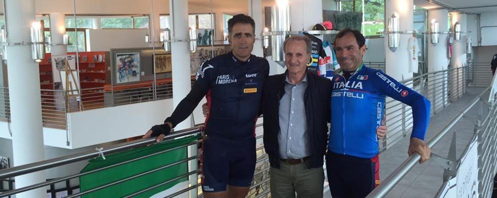 Al Museo del ciclismo  arriva anche Indurain