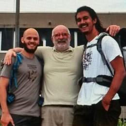 La sfida da Olgiate  Il cammino di Santiago  per dire addio al liceo