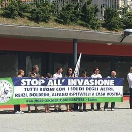 Profughi a San Fermo, il prefetto:  «Andranno nella ex Finanza»